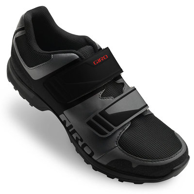 Giro GIRO BERM SHOES MENS BLACK/RED