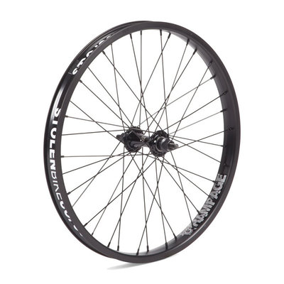 "Stolen STOLEN RAMPAGE 20"" FRONT WHEEL 10MM BLACK"