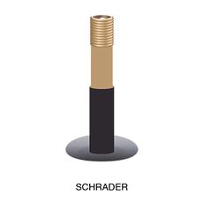 """49N 49N FREERIDE TUBE 27.5 X 2.1-2.35"""" SCHRAEDER"""