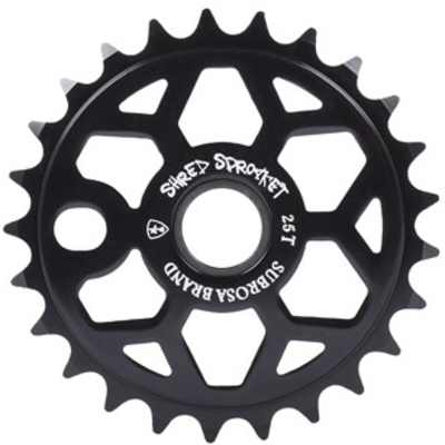 Subrosa SUBROSA SHRED 25T SPROCKET BLACK