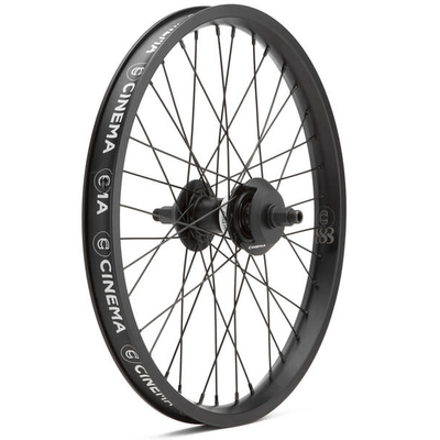 Cinema CINEMA 888 REAR WHEEL 14MM W/ GUARDS FREECOASTER BLK