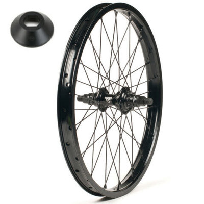 Salt SALT PLUS SUMMIT CASSETTE REAR WHEEL 14MM BLACK 9T RHD W/ GUARDS
