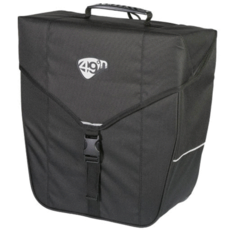 49N 49N BYWARD 18L PANNIER BAG BLACK