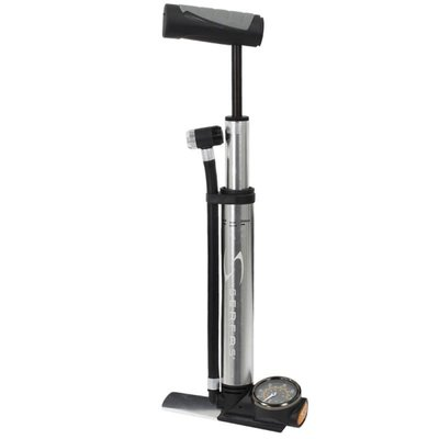 Serfas SERFAS MP4-04 MINI FLOOR PUMP SILVER