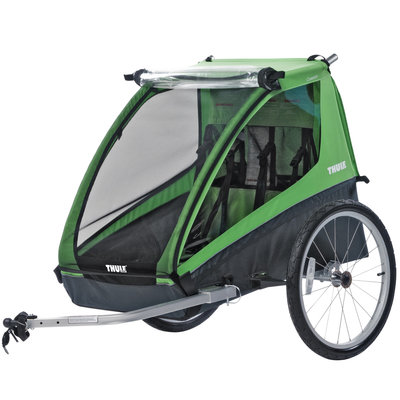 Thule 2020 THULE CHARIOT CADENCE 2 W/CYCLING KIT GREEN