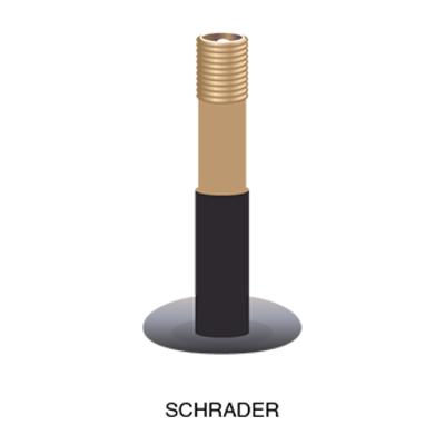 """Kenda KENDA TUBE 27.5 X 1.9-2.125"""" SCHRAEDER"""