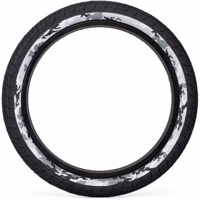 "Salt SALT PLUS STING TIRE 20 X 2.35"" BLACK/SNOW CAMO"