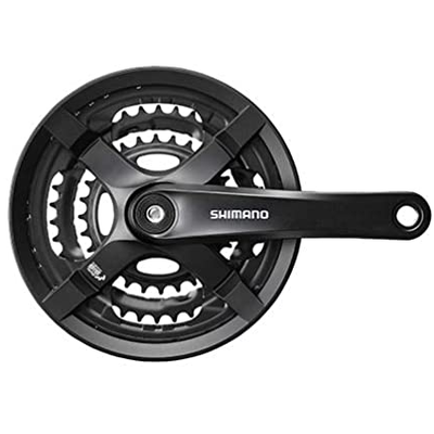 Shimano SHIMANO FC-TY501 CRANKSET 6/7/8 SPD 170MM 28/38/48T BLACK
