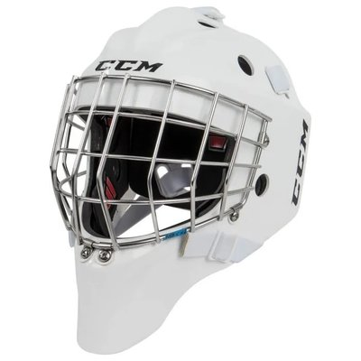 CCM CCM 1.9 GOAL MASK SR WHT MEDIUM