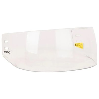 Bauer BAUER PRO STRAIGHT VISOR CLEAR SCREW ON