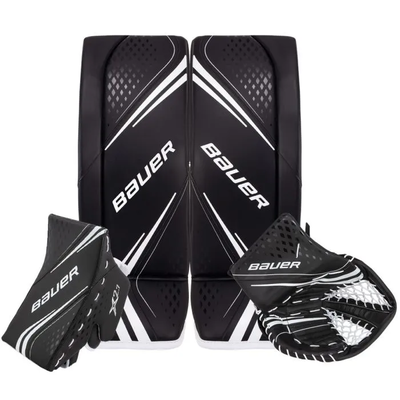 Bauer BAUER VAPOR X2.7 BLK/BLK SET JR (MEDIUM) (REG)