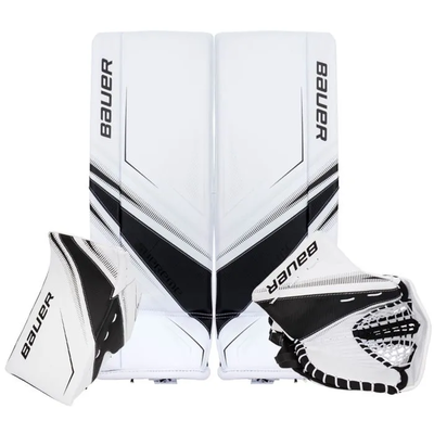 Bauer BAUER SUPREME S27 WHT/BLK SET JR (LARGE) (REG)