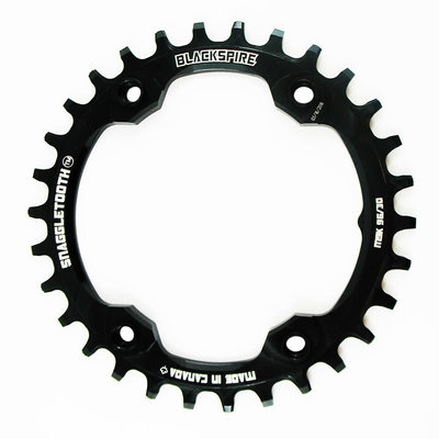 Blackspire BLACKSPIRE SNAGGLETOOTH CHAINRING 34T BLACK