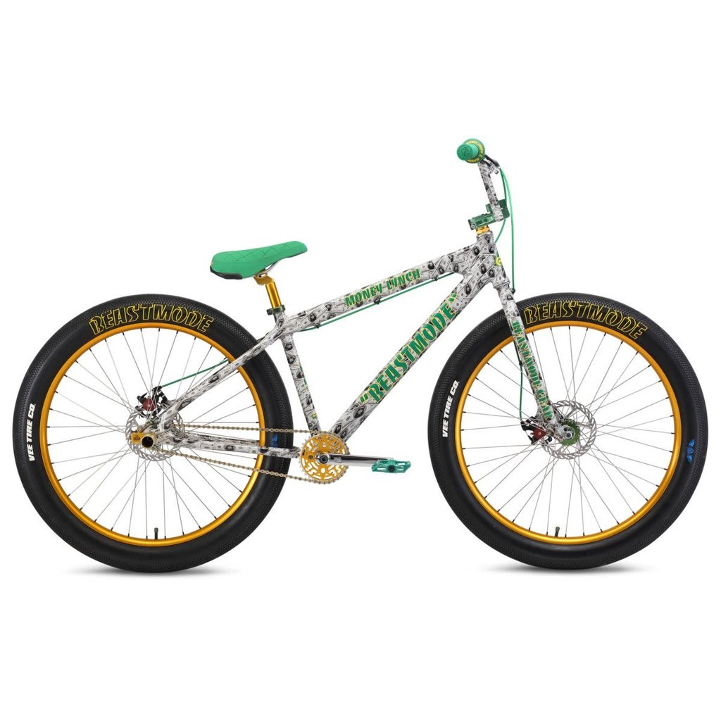 "SE BIKES SE BIKES BEAST MODE RIPPER 27.5""+ LYNCH MONEY GREEN"