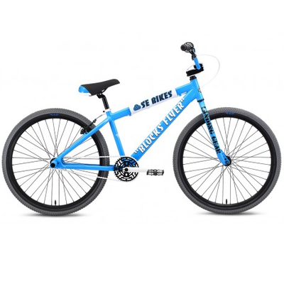 "SE BIKES 2020 SE BIKES BLOCKS FLYERS 26"" BLUE"