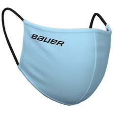 Bauer BAUER WASHABLE REVERSIBLE PPE FACE MASK (ONE SIZE) SKY BLUE/PLAID