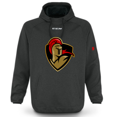 CCM CUSTOM CRUSADERS CCM TEAM TRAINING HOODY  BLACK F6568 YTH