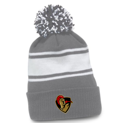 CCM CUSTOM CRUSADERS CCM POM POM TOQUE GREY C6990 SR