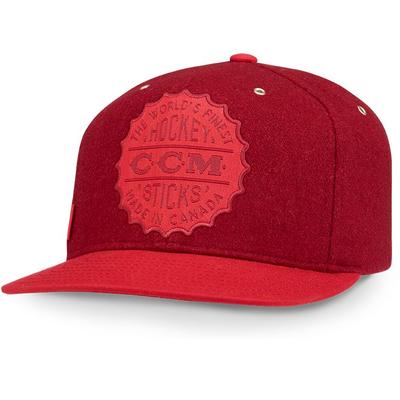 CCM CCM HERITAGE BOTTLE CAP SNAPBACK HAT