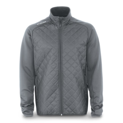 CCM CCM TEAM QUILTED JACKET YTH J5648