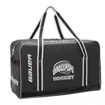 "Bauer CUSTOM STRATHMORE STORM BAUER PRO CARRY BAG JR 30""x18""x15"" BLACK 1057067"