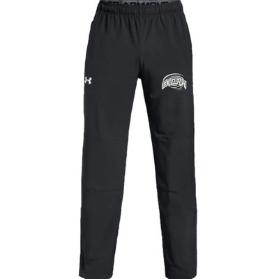 Under Armour CUSTOM STRATHMORE STORM UNDER ARMOUR WARM-UP PANTS BLACK YTH 1317214