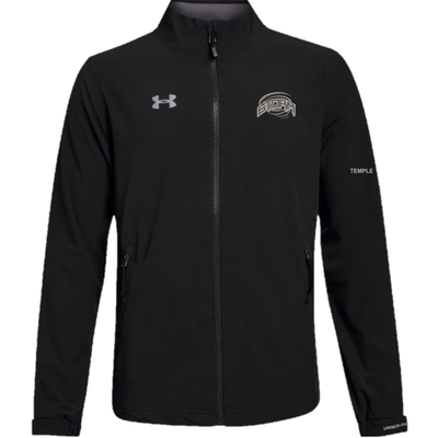 Under Armour CUSTOM STRATHMORE STORM UNDER ARMOUR WARM-UP JACKET BLACK YTH 1317212