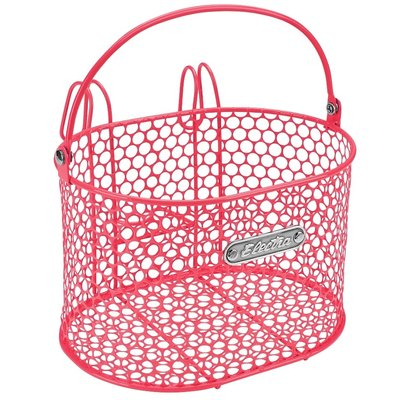 Electra ELECTRA HONEYCOMB HOOK BASKET SMALL PINK