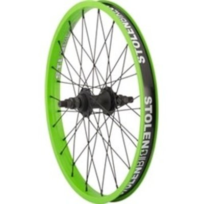 "Stolen STOLEN REVOLVER 20"" REAR WHEEL 9T GREEN"