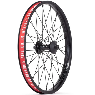 We The People WE THE PEOPLE HELIX FRONT WHEEL W/GUARDS BLACK