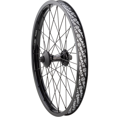 Salt SALT PLUS SUMMIT FRONT WHEEL W/GUARDS BLACK