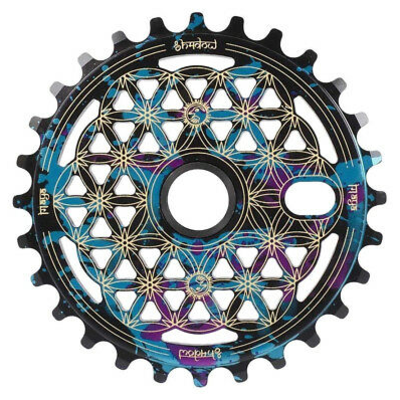 Shadow SHADOW MAYA 25T SPROCKET BLACK/BLUE/PURPLE