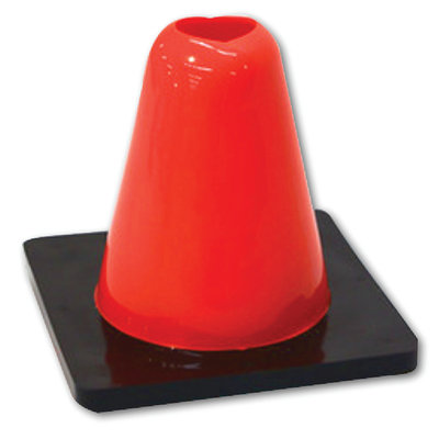 "Blue Sports 6"" WEIGHTED PRACTICE CONE"