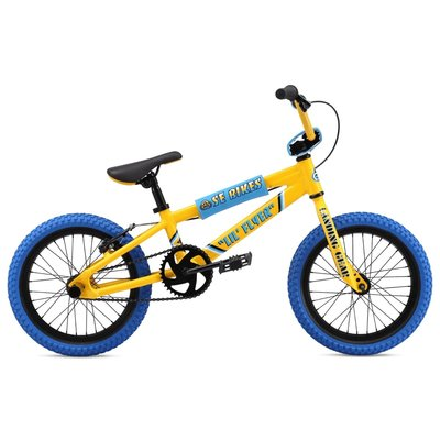 SE BIKES SE BIKES LIL FLYER 16'' YELLOW/BLUE