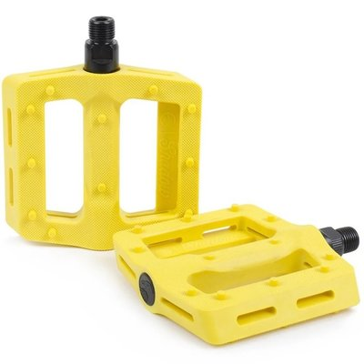 Shadow SHADOW SURFACE PLASTIC PEDALS YELLOW