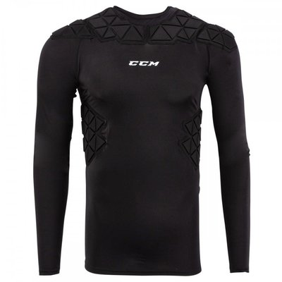 CCM CCM MENS PADDED PLAYER LONG SLEEVE TOP SR S19