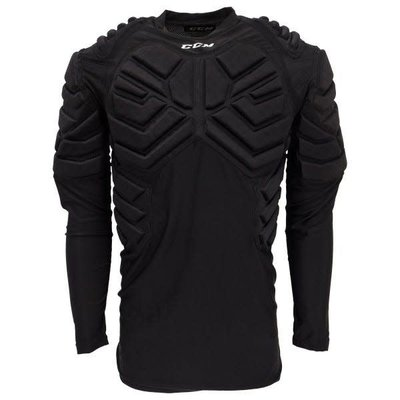 CCM CCM MENS PADDED GOALIE LONG SLEEVE TOP SR S19