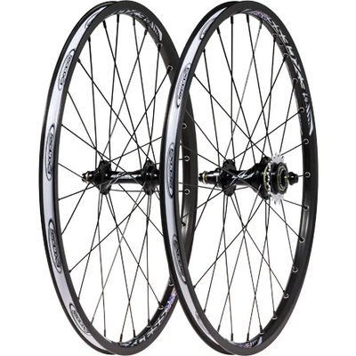 "Excess EXCESS 351 PRO WHEELSET 20 X 1-3/8"" BLACK"