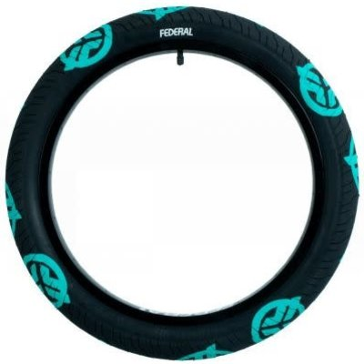"""Federal FEDERAL COMMAND TIRE 20 X 2.4"""" BLACK/TEAL"""