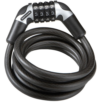 Kryptonite KRYPTONITE KRYPTOFLEX 1018 COMBO CABLE LOCK 6'