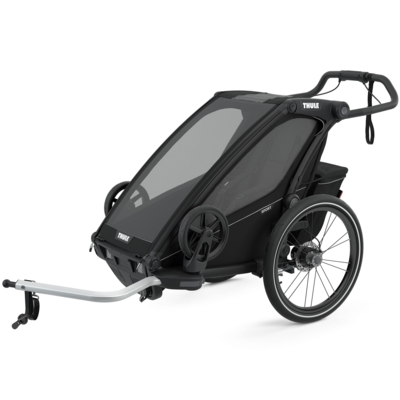 Thule 2021 THULE CHARIOT SPORT 1 BLACK (AVAILABLE TO PRE-ORDER)