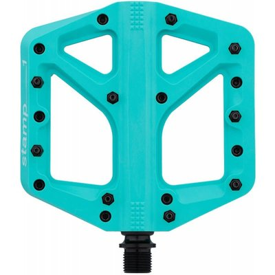 Crank Brothers CRANK BROTHERS STAMP LE NYLON PEDAL TURQUOISE