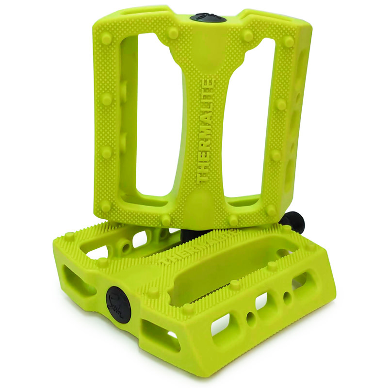 Stolen Thermalite Pedals Neon Yellow