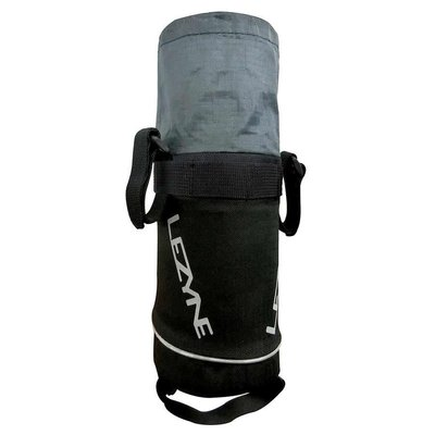 LEZYNE STUFF CADDY HANDLEBAR BAG BLACK