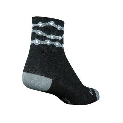 "Sock Guy SOCK GUY 3"" CHAINS SOCKS L/XL"