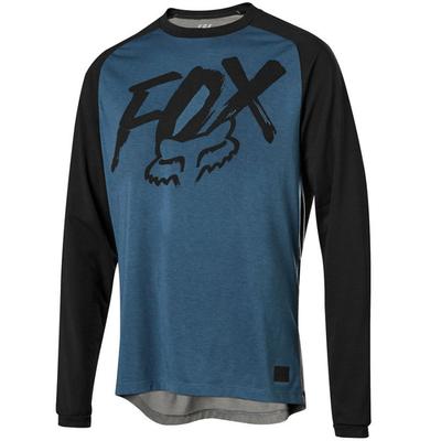 Fox FOX YOUTH RANGER DRI LS JERSEY MIDNIGHT