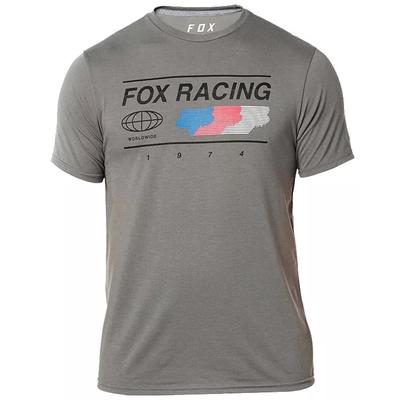 Fox FOX GLOBAL TECH TEE GRAPHITE