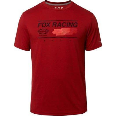 Fox FOX GLOBAL TECH TEE RED
