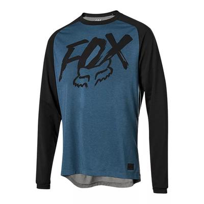 Fox FOX RANGER DRI-RELEASE LS JERSEY MIDNIGHT