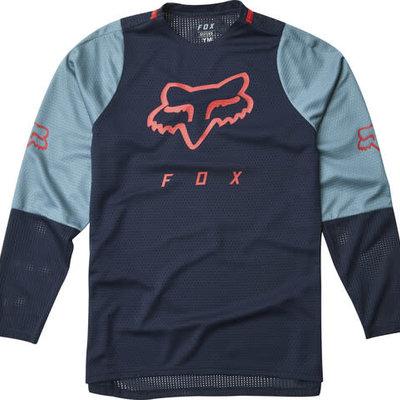 Fox FOX YOUTH DEFEND LS JERSEY NAVY